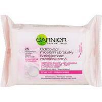 Garnier Skin Naturals odličovacie micelárne obrúsky pre citlivú pleť  25 ks