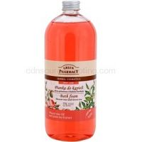 Green Pharmacy Body Care Muscat Rose & Green Tea pena do kúpeľa  1000 ml
