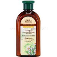 Green Pharmacy Hair Care Chamomile šampón pre oslabené a poškodené vlasy  350 ml