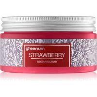 Greenum Sugar Scrub cukrový peeling na telo s vôňou Strawberry 300 g