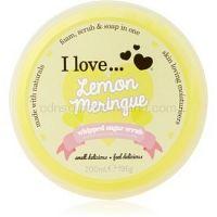 I love... Lemon Meringue cukrový peeling  200 ml