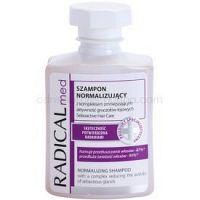 Ideepharm Radical Med Normalize šampón pre mastné vlasy a vlasovú pokožku  300 ml