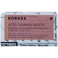 Korres Pomegranate tuhé mydlo pre mastnú pokožku  125 g
