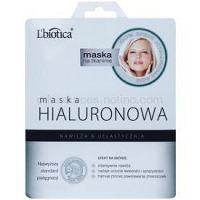 L'biotica Masks Hyaluronic Acid plátenná maska s hydratačným a vyhladzujúcim účinkom  23 ml