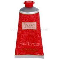 L'Occitane Rose krém na ruky s vôňou ruží  75 ml
