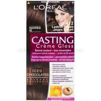 L'Oréal Paris Casting Creme Gloss farba na vlasy odtieň 412 Iced Cocoa
