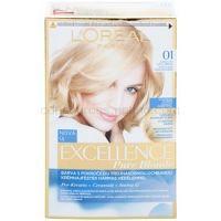 L'Oréal Paris Excellence Creme farba na vlasy odtieň 01 Lightest Natural Blonde