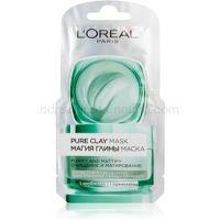 L'Oréal Paris Pure Clay čistiaca zmatňujúca maska  6 ml