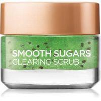 L'Oréal Paris Smooth Sugars Scrub čistiaci peeling proti čiernym bodkám  50 ml