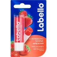 Labello Fruity Shine balzam na pery príchuť Strawberry 4,8 g