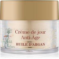 Le Petit Olivier Argan Oil protivráskový denný krém  50 ml