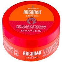 Lee Stafford Argan Oil from Morocco vyživujúca maska pre uhladenie vlasov  200 ml