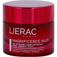 Lierac Magnificence nočný detoxikačný a vyhladzujúci gél-balzam  50 ml