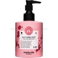 Maria Nila Colour Refresh Autumn Red jemná vyživujúca maska bez permanentných farebných pigmentov výdrž 4-10 umytí 6.60 300 ml
