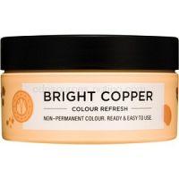 Maria Nila Colour Refresh Bright Copper jemná vyživujúca maska bez permanentných farebných pigmentov výdrž 4-10 umytí 7.40 100 ml