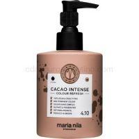 Maria Nila Colour Refresh Cacao Intense jemná vyživujúca maska bez permanentných farebných pigmentov výdrž 4-10 umytí 4.10 300 ml