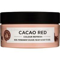 Maria Nila Colour Refresh Cacao Red jemná vyživujúca maska bez permanentných farebných pigmentov výdrž 4-10 umytí 6.35 100 ml