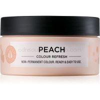 Maria Nila Colour Refresh Peach jemná vyživujúca maska bez permanentných farebných pigmentov výdrž 4-10 umytí 9.34 100 ml