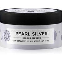 Maria Nila Colour Refresh Pearl Silver jemná vyživujúca maska bez permanentných farebných pigmentov výdrž 4-10 umytí 0.20 100 ml