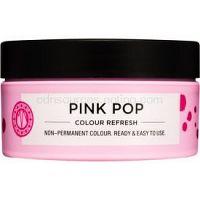 Maria Nila Colour Refresh Pink Pop jemná vyživujúca maska bez permanentných farebných pigmentov výdrž 4-10 umytí 0.06 100 ml