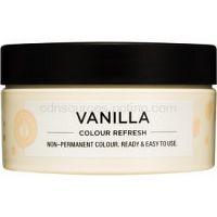 Maria Nila Colour Refresh Vanilla jemná vyživujúca maska bez permanentných farebných pigmentov výdrž 4-10 umytí 10.32 100 ml