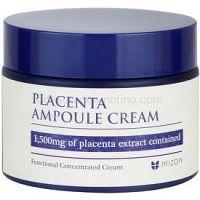 Mizon Placenta Ampoule Cream krém pre regeneráciu a obnovu pleti  50 ml