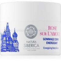 Natura Siberica Mon Amour energizujúci telový peeling  200 ml
