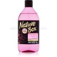 Nature Box Almond zjemňujúci sprchový gél proti vysušovaniu pokožky  385 ml