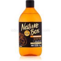 Nature Box Apricot vyživujúci šampón na lesk a hebkosť vlasov  385 ml