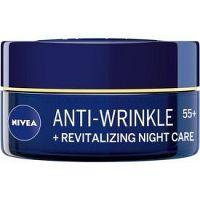 Nivea Anti-Wrinkle Revitalizing obnovujúci nočný krém proti vráskam 55+  50 ml