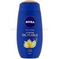 Nivea Creme Oil Pearls upokojujúci sprchový gél Lotus 250 ml