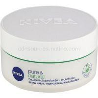 Nivea Visage Pure & Natural zvláčňujúci denný krém pre normálnu až zmiešanú pleť  50 ml