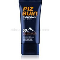 Piz Buin Mountain opaľovací krém na tvár SPF 50+  50 ml