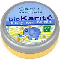 Saloos Bio Karité detský nosový balzam  19 ml