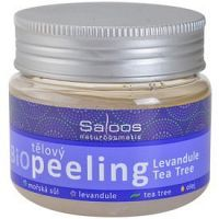 Saloos Bio Peeling telový peeling levanduľa a tea tree  140 ml
