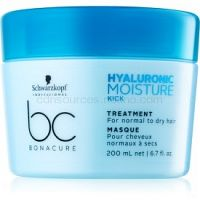 Schwarzkopf Professional BC Bonacure Moisture Kick maska na vlasy s kyselinou hyalurónovou  200 ml
