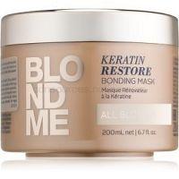 Schwarzkopf Professional Blondme obnovujúca maska pre všetky odtiene blond  200 ml