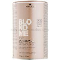 Schwarzkopf Professional Blondme prémiový zosvetľujúci 9+ bezprašný púder pre profesionálne použitie  450 g
