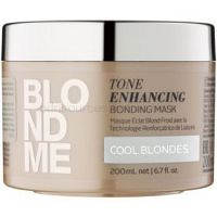 Schwarzkopf Professional Blondme vyživujúca maska na vlasy pre studené odtiene blond  200 ml