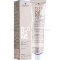 Schwarzkopf Professional Blondme zosvetľujúcí krém pre blond vlasy odtieň L - Ice  60 ml
