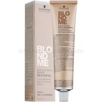 Schwarzkopf Professional Blondme zosvetľujúci krém pre krytie bielych vlasov odtieň W - Sand  60 ml