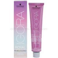 Schwarzkopf Professional IGORA Royal Pearlescence pastelová farba na vlasy P 9,5-43 (Pastel Mint) 60 ml