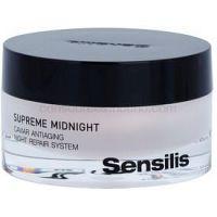 Sensilis Supreme Midnight hĺbkovo regeneračný nočný krém s protivráskovým účinkom  50 ml