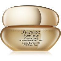 Shiseido Benefiance Concentrated Anti-Wrinkle Eye Cream očný krém proti opuchom a vráskam  15 ml