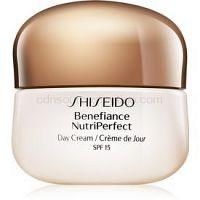 Shiseido Benefiance NutriPerfect Day Cream SPF15 omladzujúci denný krém SPF 15  50 ml
