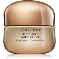 Shiseido Benefiance NutriPerfect Night Cream revitalizačný nočný krém proti vráskam  50 ml