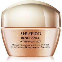 Shiseido Benefiance WrinkleResist24 Intensive Nourishing and Recovery Cream intenzívny vyživujúci krém proti vráskam  50 ml