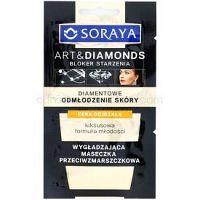 Soraya Art & Diamonds vyhladzujúca maska s protivráskovým účinkom  2 x 5 ml