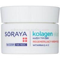 Soraya Collagen & Elastin regeneračný pleťový krém s vitamínmi  50 ml