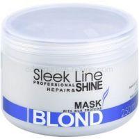 Stapiz Sleek Line Blond maska pre blond a šedivé vlasy  250 ml